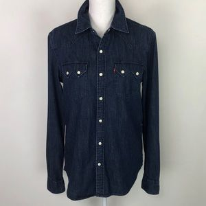 Levi's Denim Button Up Long Sleeve